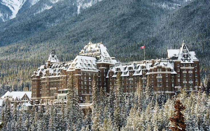 One of the most beautiful places to stay in Canada is the Banff Springs Hotel, also known as the Castle of the Rockies. Styled after a Scottish Baronial Castle, The Banff Springs Hotel, is a national historical site and a UNESCO World Heritage Site. Nestled within the national park itself, it's a luxurious getaway and spa for guests who need a rest from days filled with the great outdoors. #Canada
