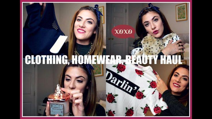 HAUL 2017 | PRIMARK, ASOS, BOOHOO, SUPERDRUG #fashion #style #haul #clothing