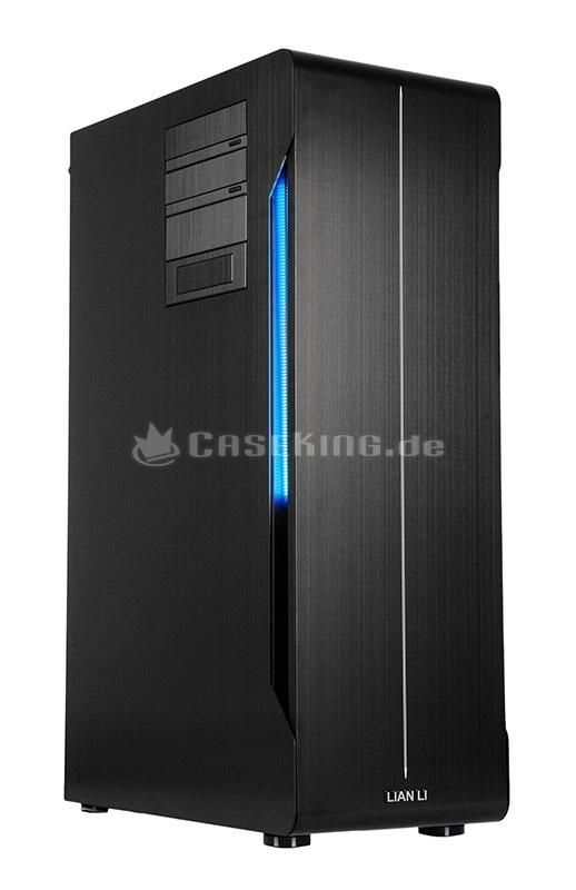 Lian Li PC-X2000FB TYR Super-Case Big-Tower in schwarz. Für die Ewigkeit? Offensichtlich nicht, denn nun bekommt der X2000 ausgerechnet aus dem eigenem Hause Konkurrenz. Mit der F-Version steht der designierte Nachfolger in den Startschuhen und knüpft an Bewährtes an, um andererseits im Detail Verbesserungen vorzunehmen. Wirkliche Schwachstellen besitzt das X2000 in seiner ursprünglichen Version zwar nicht, aber die Evolution erstarrt schließlich auch vor diesem Boliden nicht in Ehrfurcht.