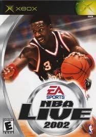 NBA Live 2002 - Xbox Game