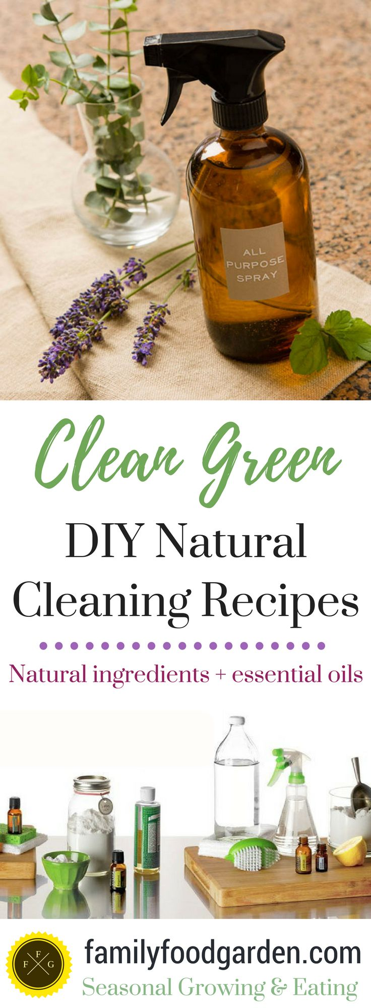 Spring can make you feel so renewed after a long winter It's time to air out the house again, tackle all those hard to clean areas of the home and plant your garden. However a lot of cleaners, even the ones that I've seen labelled as 'natural' are often full of chemicals. That's not clean in my o
