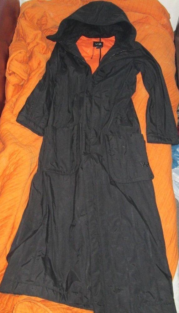 bf7974ad64feb adidas Y3 yohji yamamoto BLACK long COAT mens   womens  fashion  clothing   shoes  accessories  mensclothing  coatsjackets (ebay link)