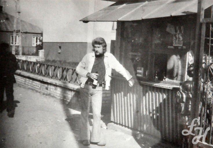 Kiosk WSS Społem przy ulicy Kościelnej. 1972 r.
