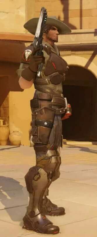 Blackwatch Young McCree Skin Concept Overwatch