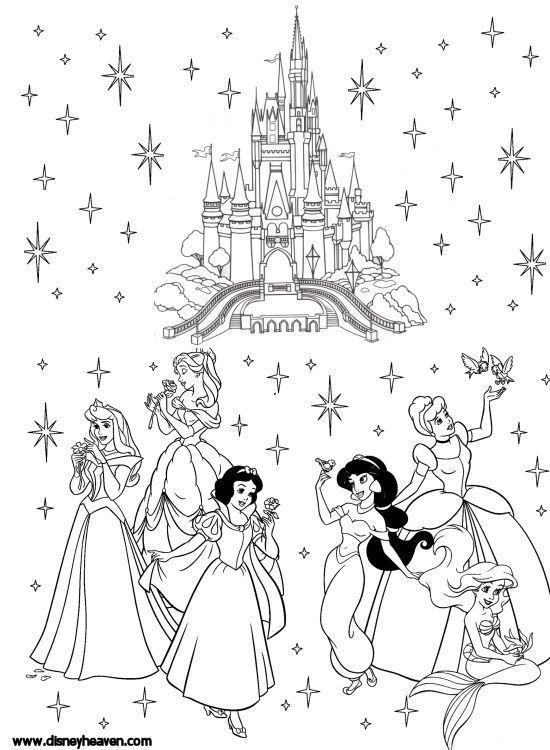 Disney Villains Coloring Pages Disney Heaven Sharing The Magic Disney Coloring Sheets Disney Coloring Pages Disney Princess Coloring Pages