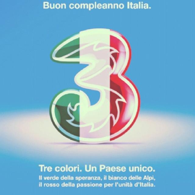 @Tre_It festeggia o #150 anni dell'unità d'#italia