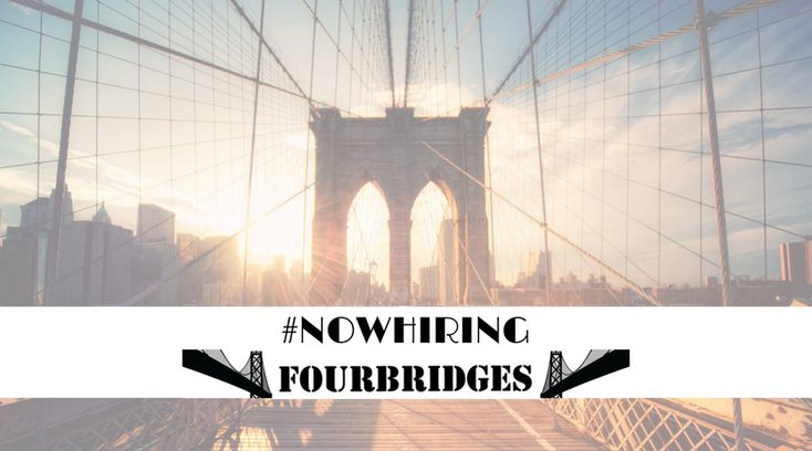 Four Bridges, Inc is looking for ambitious individuals to join the team.  Like to #travel and #havefun while making money?  Check out our website to learn more.  Www.fourbridgesny.com.  #NowHiring #JobsinNY #Nyjobs #poughkeepsie