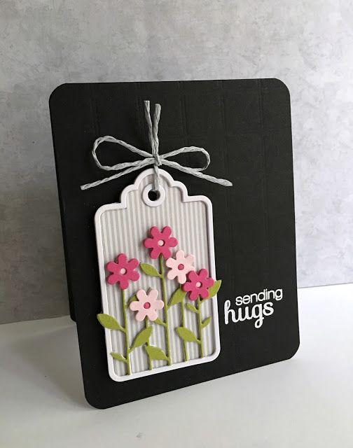 Sending Hugs Tag Card                                                                                                                                                     More
