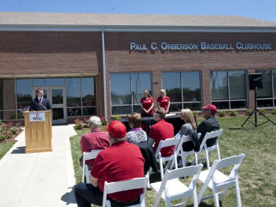"From the Western Kentucky University Official Athletics site: ""WKU Dedicates Paul C. Orberson Baseball Clubhouse"""