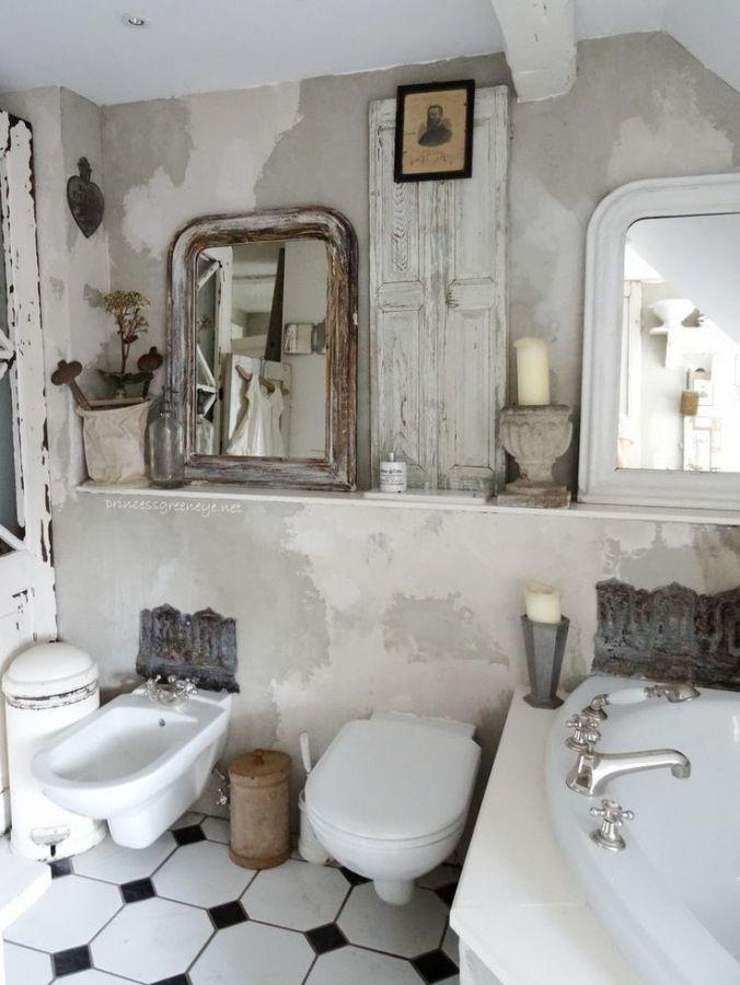 Badezimmer Ideen Mietwohnung Kleines Bad Renovierungen Shabby