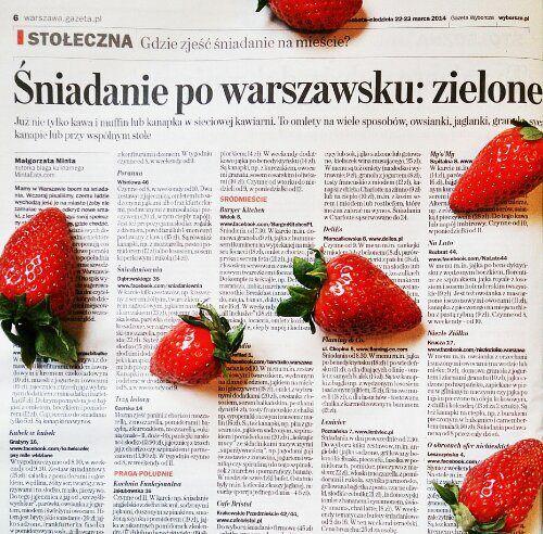 Śniadanie w Warszawie: przewodnik