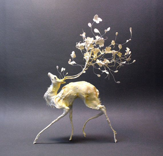 """Ellen Jewett sculpture"""