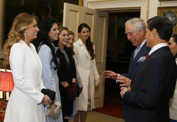 Peña Nieto, su esposa y familia de visita en el Reino Unido - Yahoo Noticias
