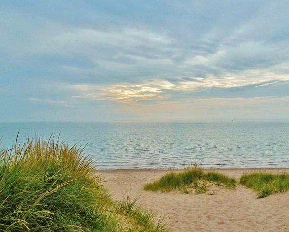 LAKE MICHIGAN HAZE-Lake Michigan Great Lakes Michigan