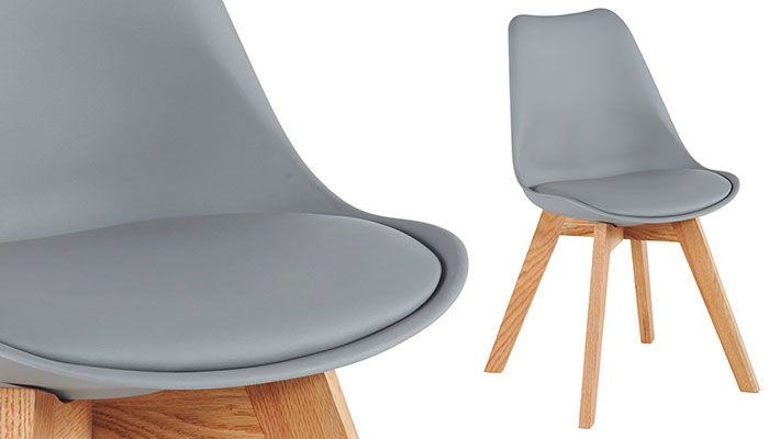 Chaise MOSS cocktail scandinave 59euros