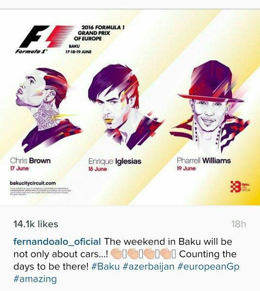 Fernando alonso instagram!