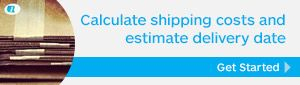Calculate shipping costs and estimate delivery date
