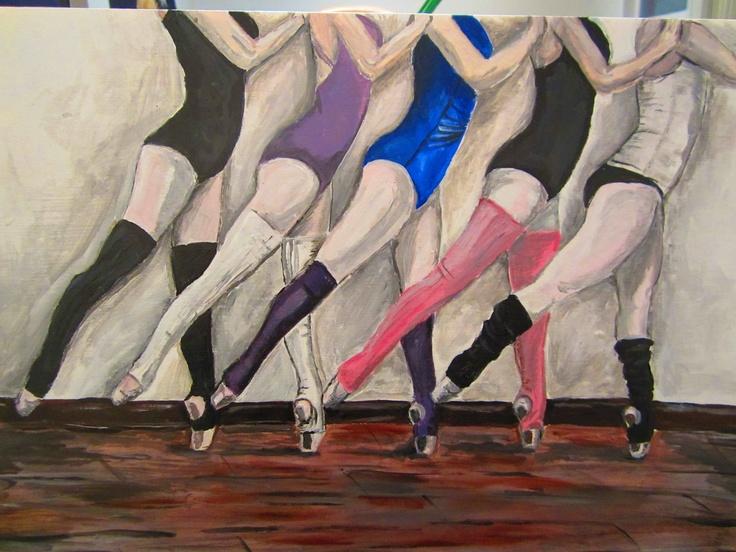 Ballerinas. $50.00, via Etsy.: Favorite Stuff