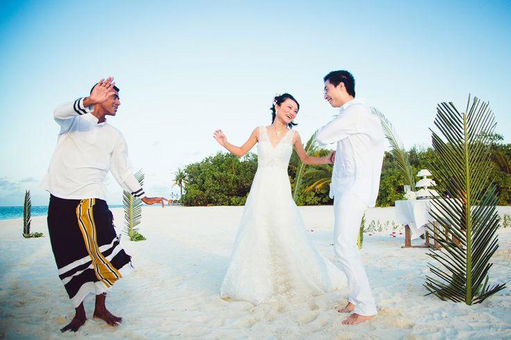 Maldives Wedding, Kanuhura Resort, Lhaviyani Atoll