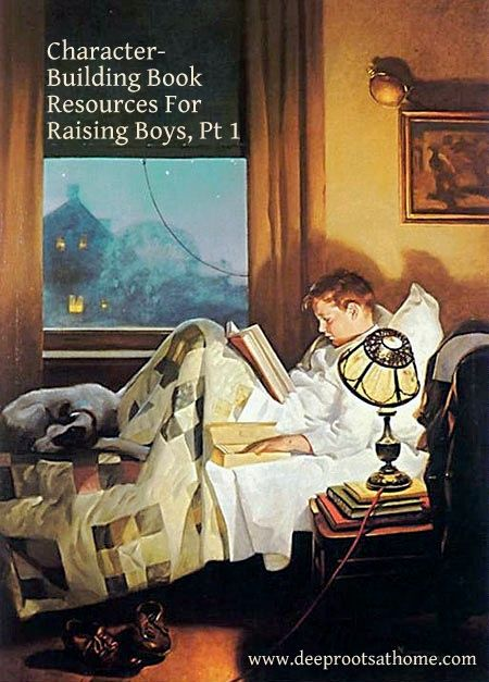 Character building book resources for raising boys