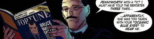 Alfred Pennyworth from Robin #154