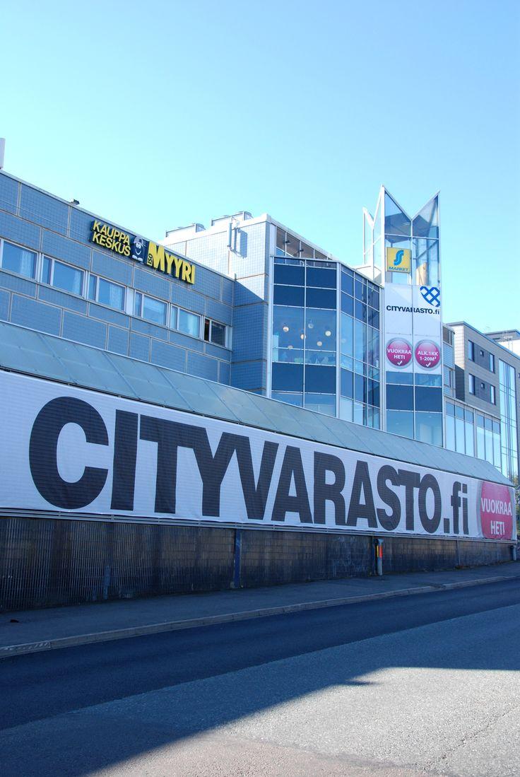 Cityvarasto Myyrmäki (Iso-Myyrin kauppakeskus), Vaskivuorentie 10, Vantaa