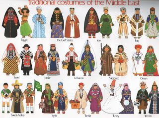 traditional costumes of the middle east [I would love to have a copy of this framed in a kidu0027s bedroom or play room! & The 112 best missions banquet images on Pinterest | Map crafts Maps ...