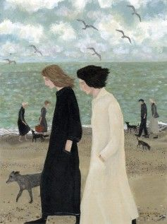 Dee Nickerson - Artists - Southwold Art Gallery, Beach Paintings, Sea Paintings, Suffolk Art, Beach Scenes