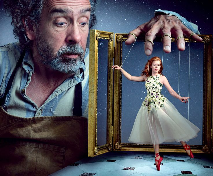 Amy Adams & Tim Burton by Annie Leibovitz                                                                                                                                                     More