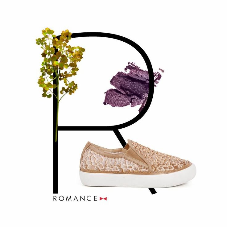 Floral patterned beige sneakers for some #romanceonthestreet