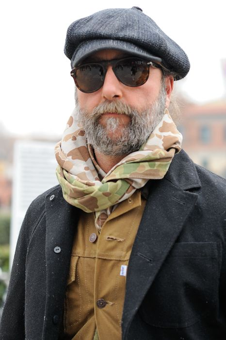Men's style #camo #scarf...we can dig it.