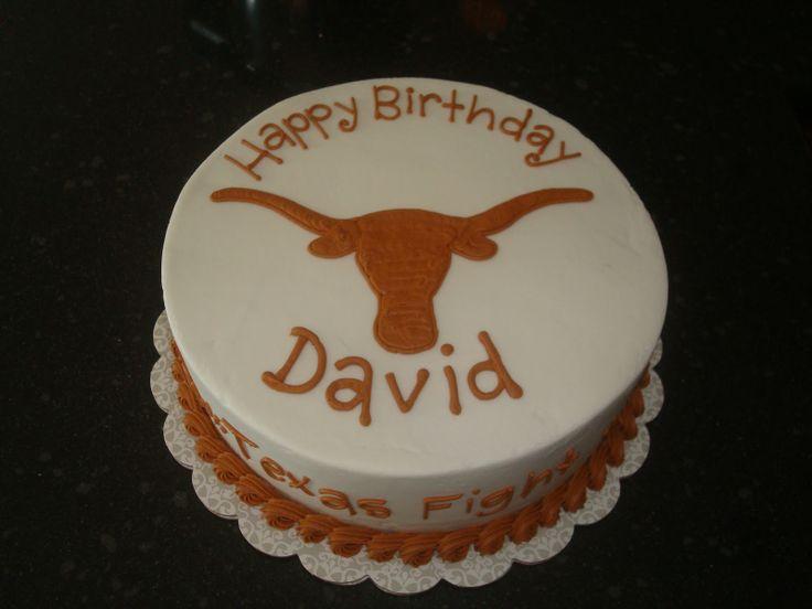 Longhorn Cupcake Ideas   sugar boo sweets texas longhorns birthday cake