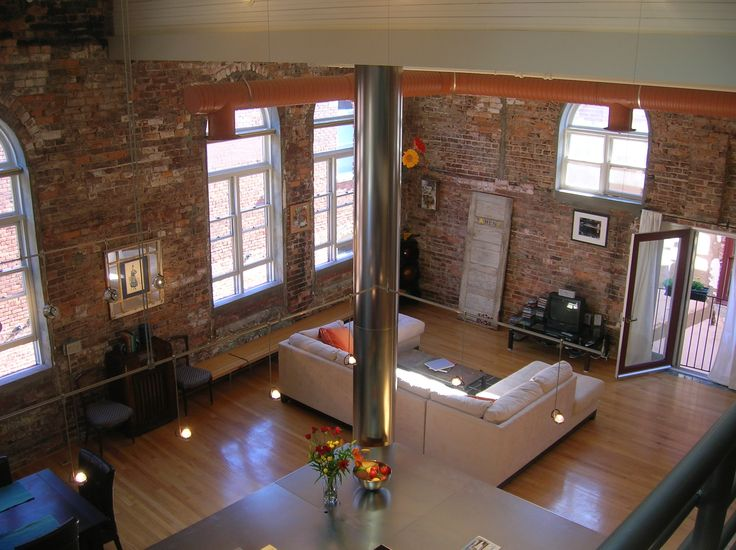 I love loft apartments, and my favorite have to have brick walls. I love when an architect keeps the hints of originality of the building and make them a glamorous addition to a living space. Ima...