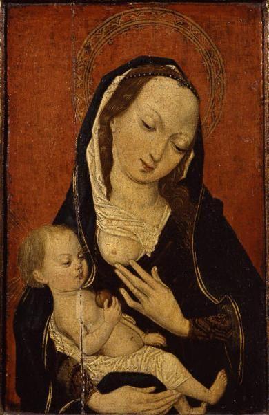 Maestro della Leggenda della Maddalena - Madonna del Latte, notizie sec. XVI primo quarto.