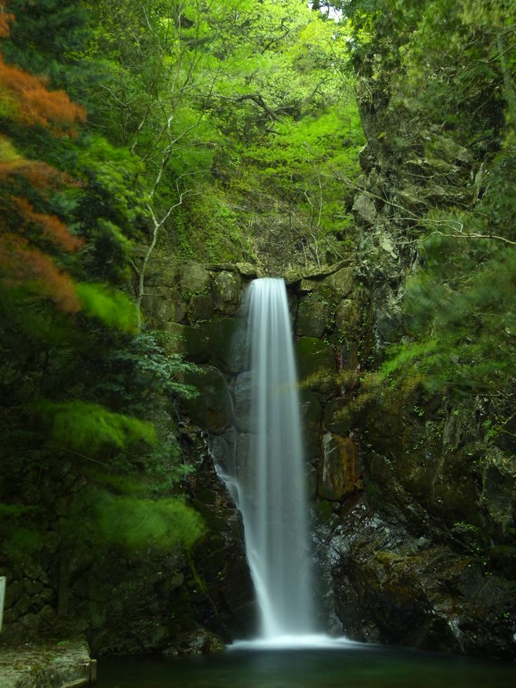 Travel - Waterfalls in Arima, Kobe, Japan 有馬温泉 鼓ヶ滝