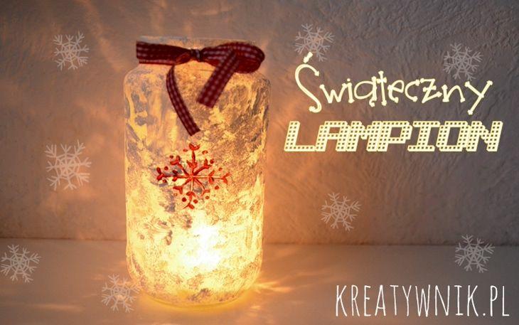 Lampion świąteczny
