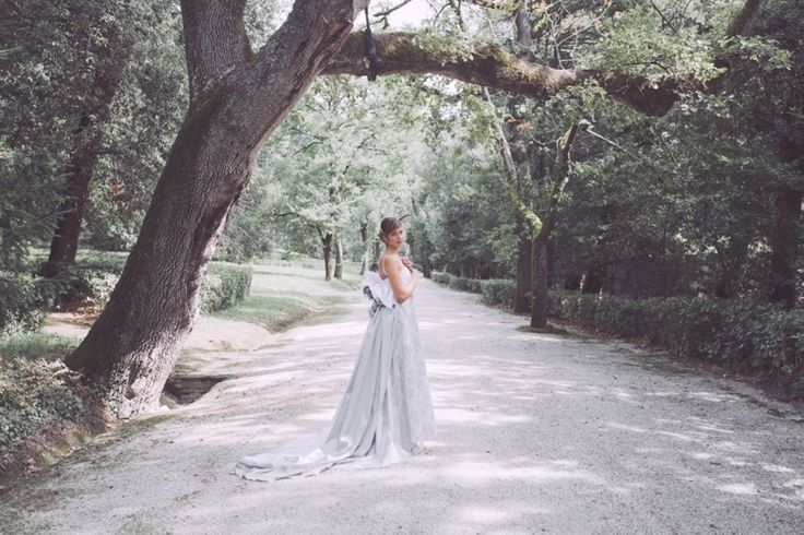 Whimsical Italian Forest Wedding ✈ Styled Shoot
