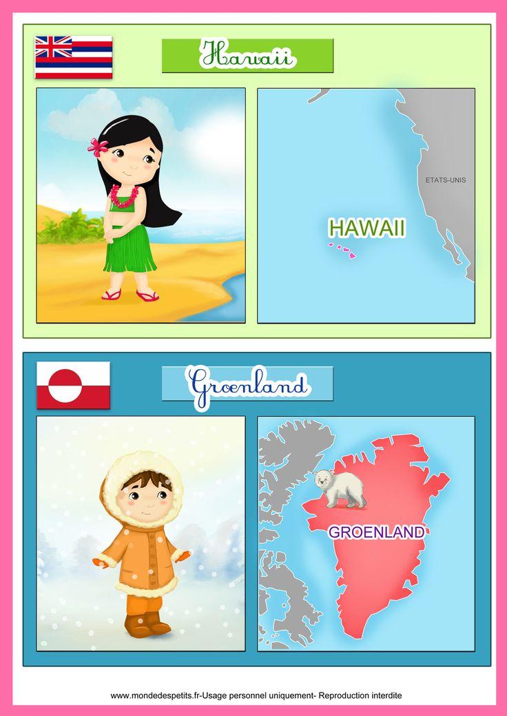 Havai e Groelândia
