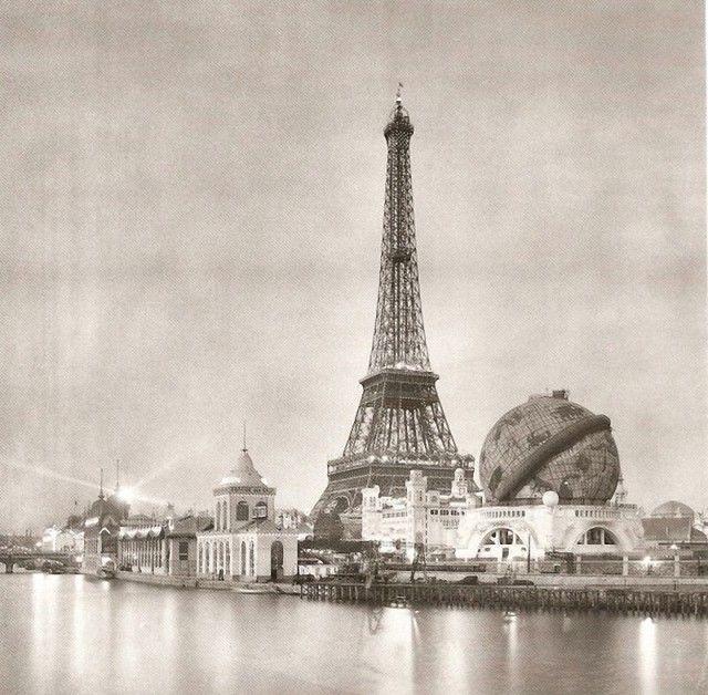 Tour Eiffel Exposition universelle 1900