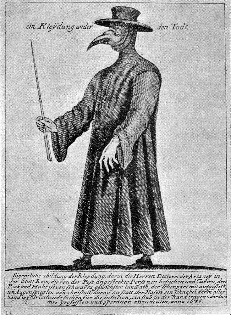 Plague Doctor Costumes The Public Domain Review in 2020
