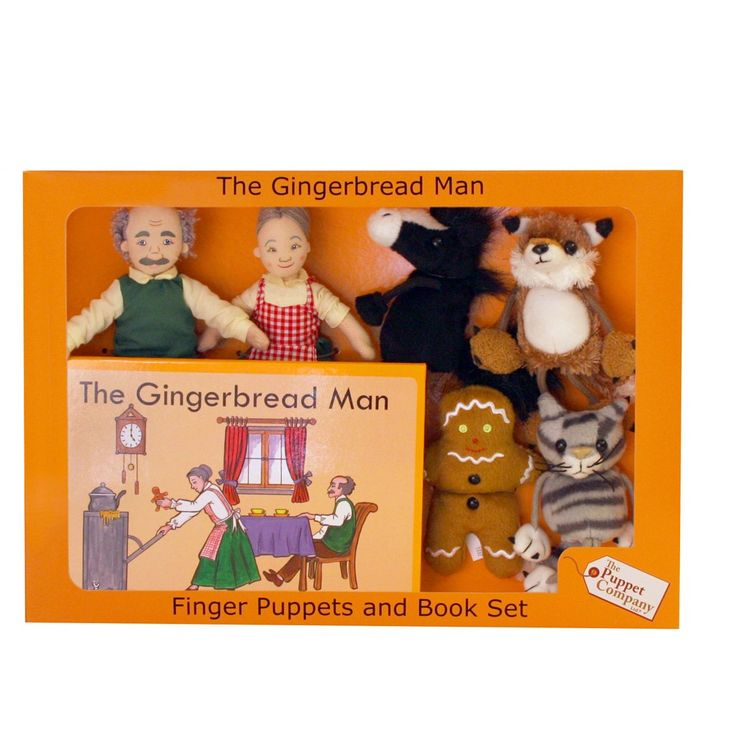 Boys age 5 will love hearing the story of The Gingerbread Man so will love playing with this Puppet Set whilst listening to the story. This is a great educational gift!