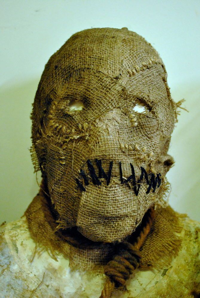 Batman Style Scarecrow Mask