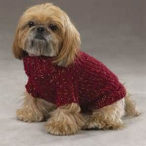 Dog Sweaters To Knit Zack Amp Zoey Chunky Metallic Knit