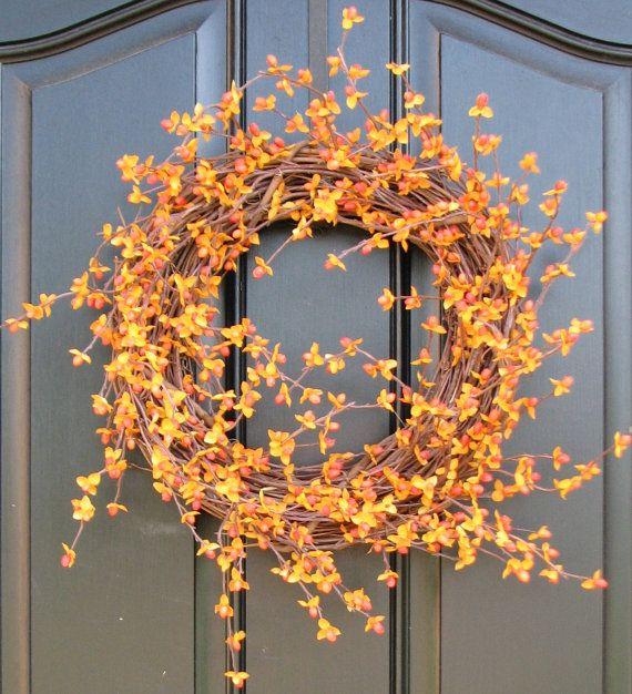 Best FRONT DOOR Images On Pinterest Door Ideas Fall Front - 9 diy thanksgiving front door decor ideas