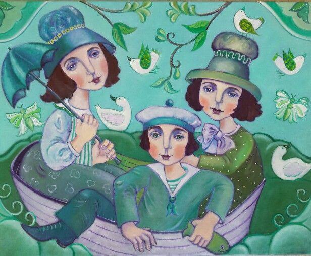 Famille en Vert...