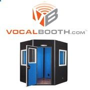 VocalBooth manufactures recording and sound isolation booths for quality sound control in professional and home recording studios, broadcast, voice over, rehearsal, audiology