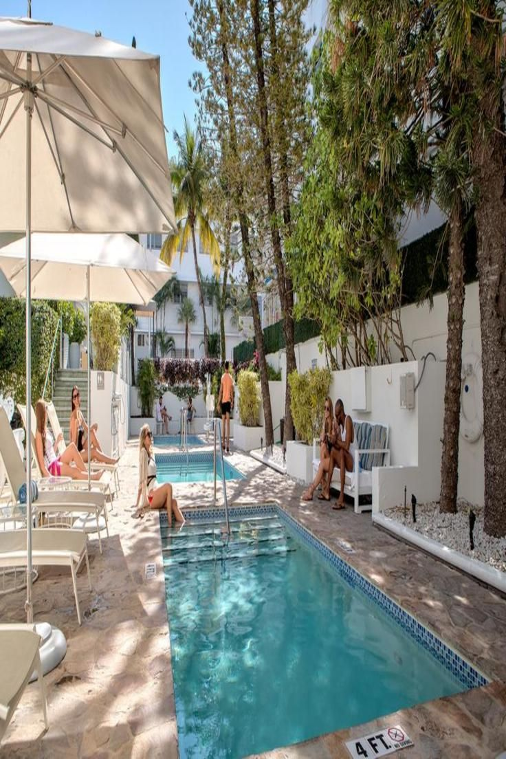 The Accommodations At South Beach Hotel Stiles Are Colorful With A