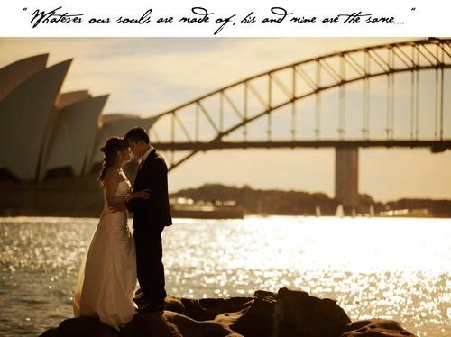 Sydney harbour #wedding photo #operahouse #harbourbridge