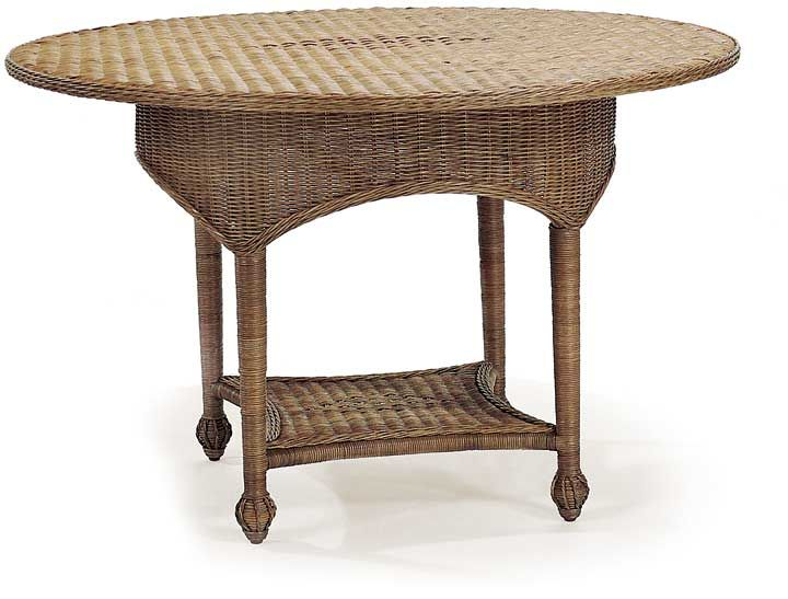 Awesome Cottage Home Furniture   Cottage Wicker Garden Table