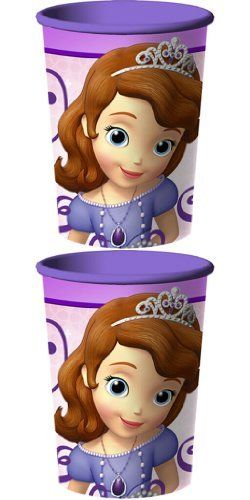 Sofia the First Plastic Reusable Cup 16 Ounce 2-pack by Asheboro, http://www.amazon.com/dp/B00DBA1IRK/ref=cm_sw_r_pi_dp_F70Xrb1WSNEZ5